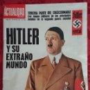 Coleccionismo de Revistas y Periódicos: REVISTA ACTUALIDAD ESPAÑOLA HITLER Y SU EXTRAÑO MUNDO 1970. Lote 135526810