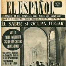 Coleccionismo de Revistas y Periódicos: EL ESPAÑOL-FORMENTERA (3 PAG.4 F) ALMENDRALEJO (4PAG.5 FOT.) BOXEO YOUNG MARTIN / FRED GALIANA -1955. Lote 135627078