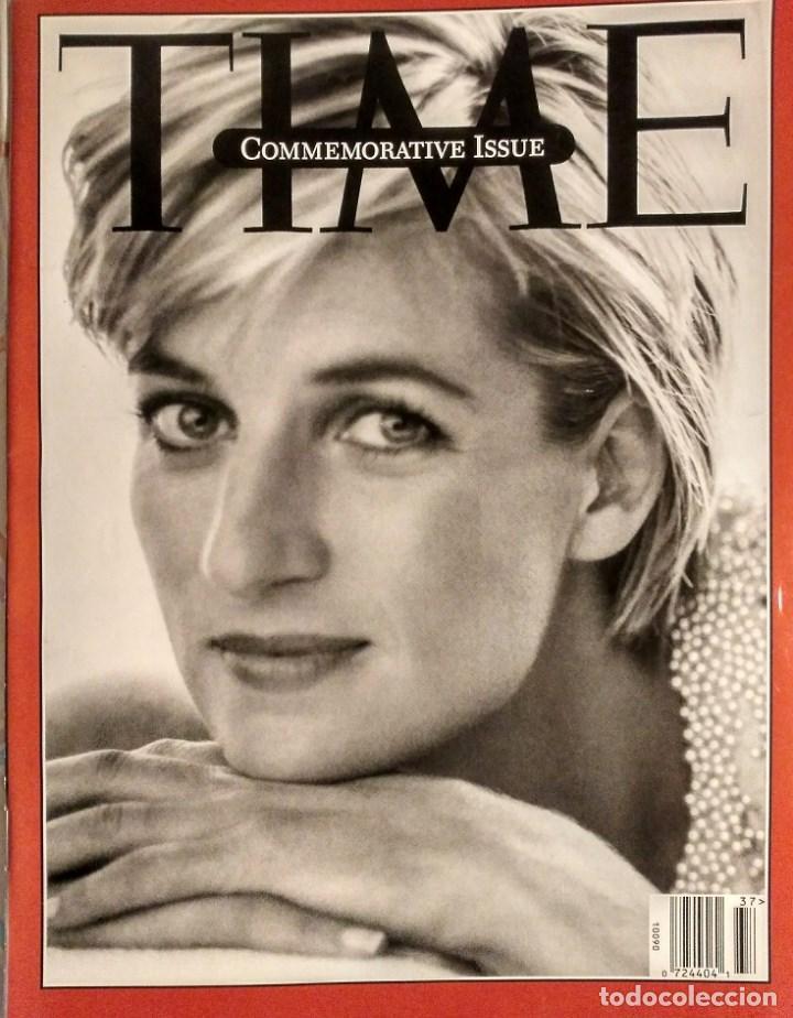 REVISTA ''TIME'' - LADY DI - MUERTE DE DIANA, PRINCESA DE GALES (1997) - MADRE TERESA DE CALCUTA (Coleccionismo - Revistas y Periódicos Modernos (a partir de 1.940) - Otros)