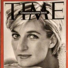 Coleccionismo de Revistas y Periódicos: REVISTA ''TIME'' - LADY DI - MUERTE DE DIANA, PRINCESA DE GALES (1997) - MADRE TERESA DE CALCUTA. Lote 135627990