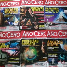 Coleccionismo de Revistas y Periódicos: REVISTAS AÑO CERO. LOTE O POR SEPARADO. Lote 135665807