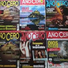 Coleccionismo de Revistas y Periódicos: REVISTAS AÑO CERO, LOTE O POR SEPARADO.. Lote 135667005