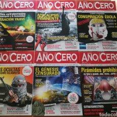 Coleccionismo de Revistas y Periódicos: REVISTAS AÑO CERO, LOTE O POR SEPARADO. Lote 135667863