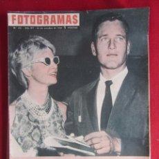 Coleccionismo de Revistas y Periódicos: REVISTA FOTOGRAMAS Nº 621 1960. Lote 135731375