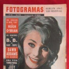 Coleccionismo de Revistas y Periódicos: REVISTA FOTOGRAMAS Nº 762 1963. Lote 135731763