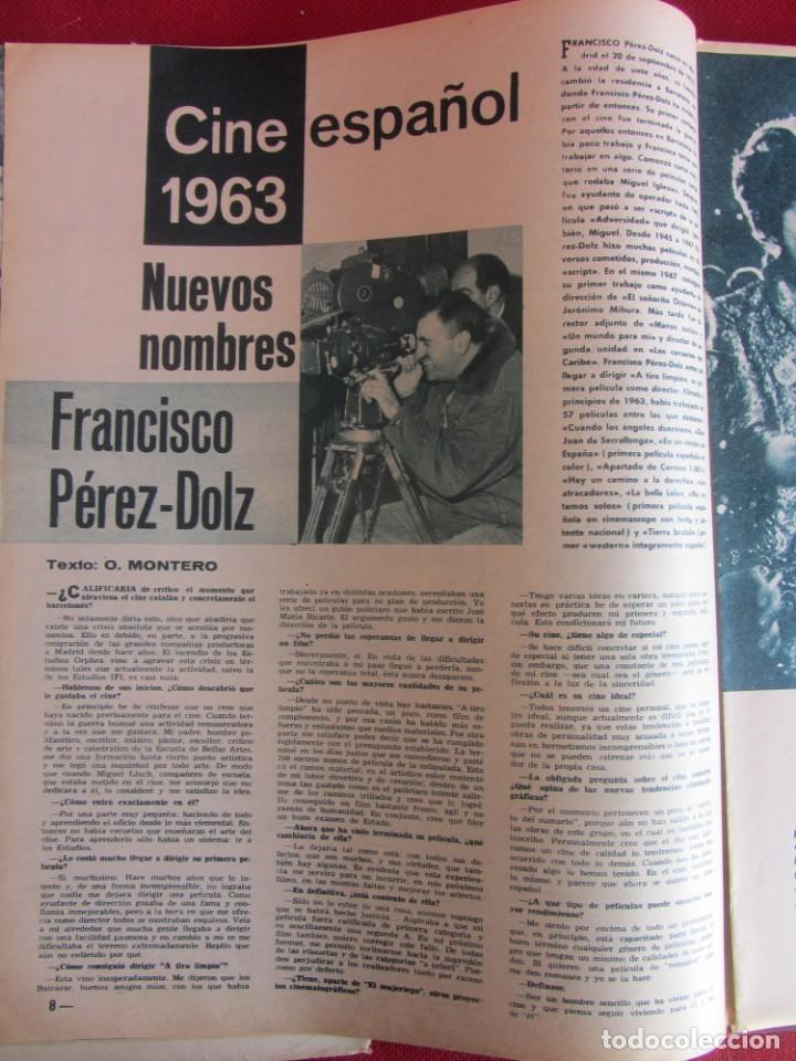 Coleccionismo de Revistas y Periódicos: Revista Fotogramas Nº 762 1963 - Foto 3 - 135731763