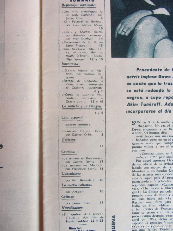 Coleccionismo de Revistas y Periódicos: Revista Fotogramas Nº 762 1963 - Foto 5 - 135731763