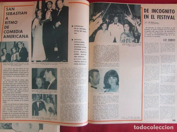 Coleccionismo de Revistas y Periódicos: Revista Fotogramas Nº 976 1967. Festival San Sebastian - Foto 4 - 135734059
