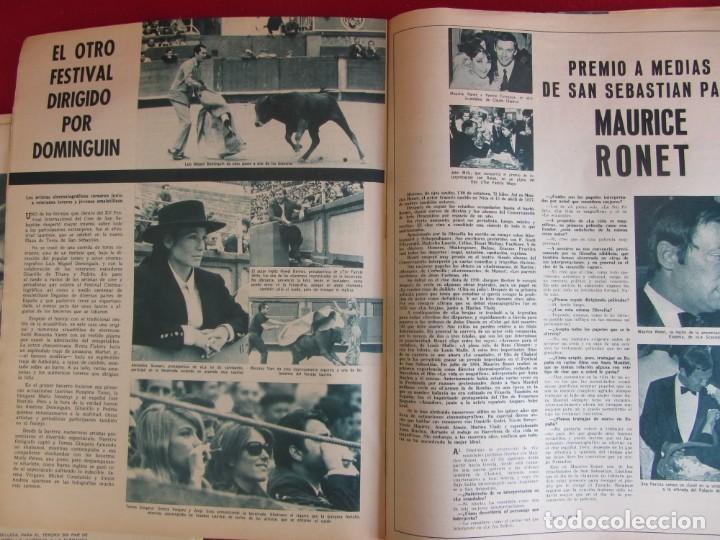 Coleccionismo de Revistas y Periódicos: Revista Fotogramas Nº 976 1967. Festival San Sebastian - Foto 5 - 135734059