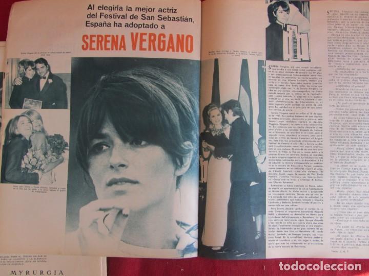 Coleccionismo de Revistas y Periódicos: Revista Fotogramas Nº 976 1967. Festival San Sebastian - Foto 6 - 135734059