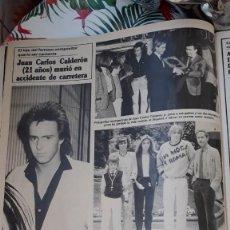 Coleccionismo de Revistas y Periódicos: JUAN CARLOS CALDERON. Lote 135736151