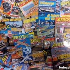 Coleccionismo de Revistas y Periódicos: AEROTEC MODELISMO RC. LOTE DE 56 REVISTAS ENTRE Nº 56 Y 182. Lote 135807478