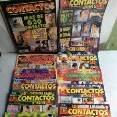 Coleccionismo de Revistas y Periódicos: LOS CONTACTOS INTIMOS DE LIB - LOTE DE 13 EJEMPLARES ( REVISTAS EROTICAS AÑOS 90 ) FOTOS AMATEUR. Lote 135813794