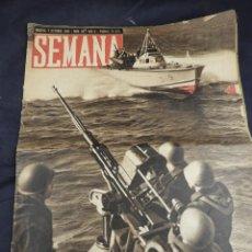 Coleccionismo de Revistas y Periódicos: REVISTA SEMANA AÑO 1941 NUM 85. Lote 135844354
