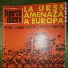 Coleccionismo de Revistas y Periódicos: REVISTA FUERZA NUEVA Nº 99 AÑO 1968( BUQUES Y LOCOMOTORAS PARA COLOMBIA ..HACIA EL MERCADO- . Lote 135889262