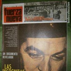 Coleccionismo de Revistas y Periódicos: REVISTA FUERZA NUEVA Nº 91 AÑO 1968( CARTA DE CATALUÑA..LA MAREA DE LA AUTODESTRUCCIÓN..). Lote 135890414