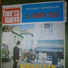 Coleccionismo de Revistas y Periódicos: REVISTA FUERZA NUEVA Nº 118 AÑO 1969(LA PIEL DE TORO..CONFERENCIA DE BLAS PIÑAR). Lote 135891050