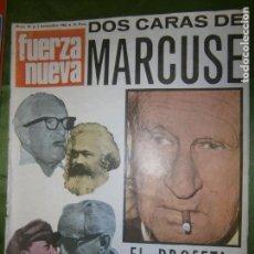 Coleccionismo de Revistas y Periódicos: REVISTA FUERZA NUEVA Nº 95 AÑO 1968 (CARTA DE CATALUÑA). Lote 135892858