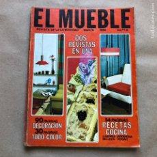Coleccionismo de Revistas y Periódicos: REVISTA EL MUEBLE N° 51 (MARZO, 1966). REVISTA DE LA COMODIDAD. 2 REVISTAS EN 1.. Lote 135893933