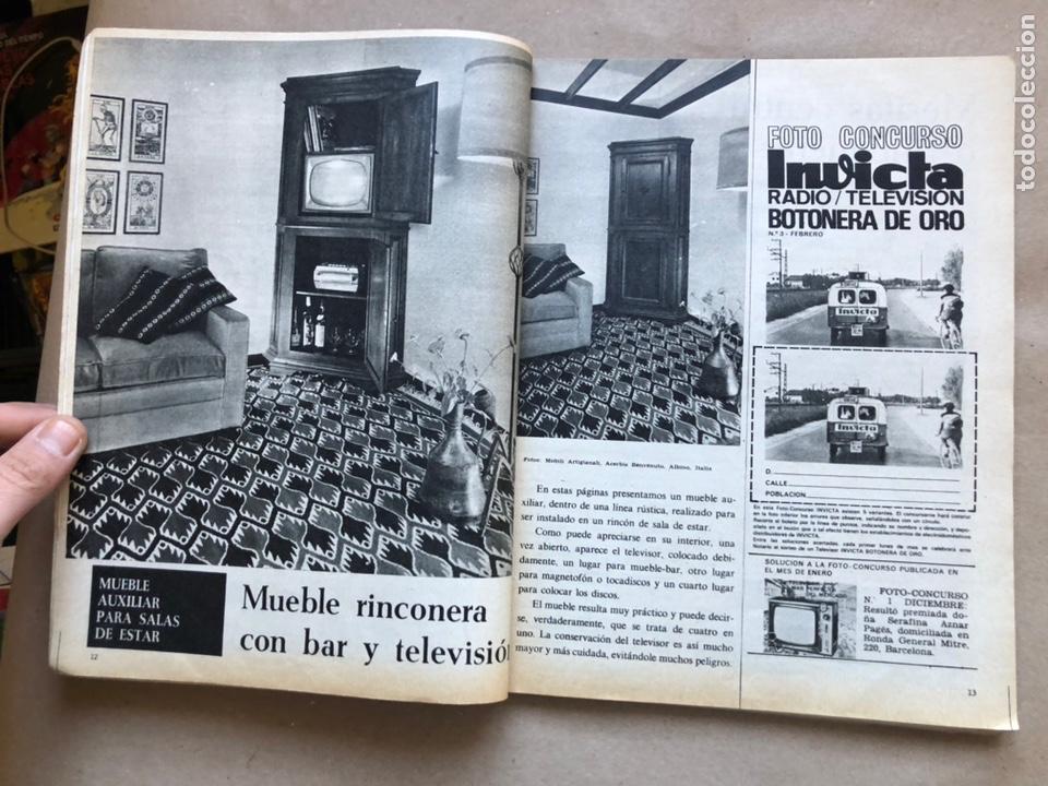 Coleccionismo de Revistas y Periódicos: REVISTA EL MUEBLE N° 51 (MARZO, 1966). REVISTA DE LA COMODIDAD. 2 REVISTAS EN 1. - Foto 3 - 135893933