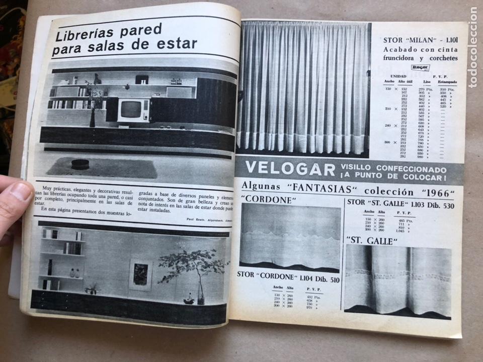 Coleccionismo de Revistas y Periódicos: REVISTA EL MUEBLE N° 51 (MARZO, 1966). REVISTA DE LA COMODIDAD. 2 REVISTAS EN 1. - Foto 4 - 135893933