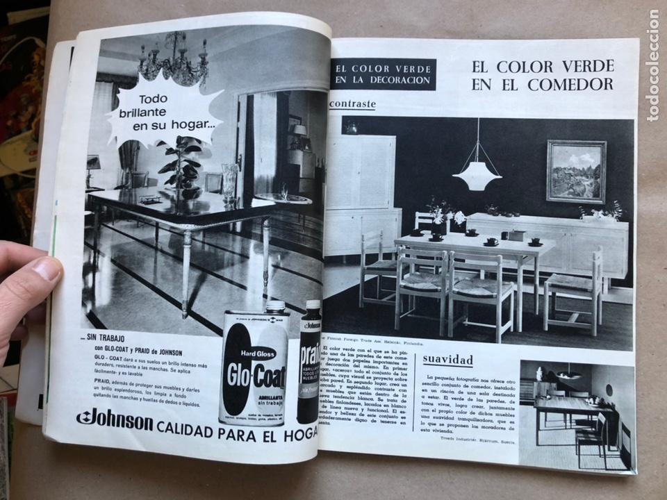 Coleccionismo de Revistas y Periódicos: REVISTA EL MUEBLE N° 51 (MARZO, 1966). REVISTA DE LA COMODIDAD. 2 REVISTAS EN 1. - Foto 5 - 135893933