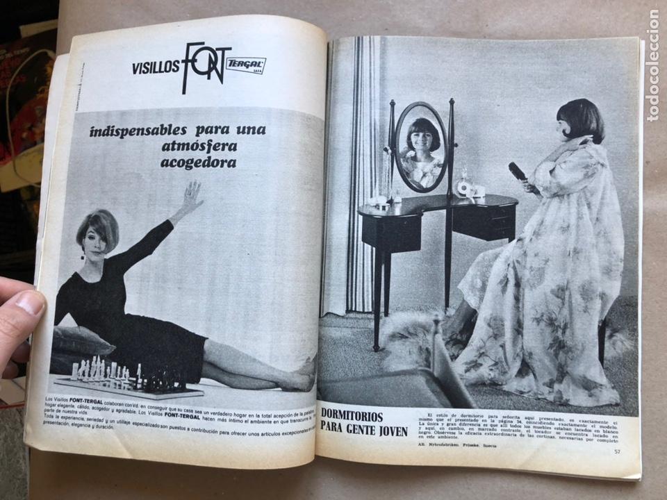 Coleccionismo de Revistas y Periódicos: REVISTA EL MUEBLE N° 51 (MARZO, 1966). REVISTA DE LA COMODIDAD. 2 REVISTAS EN 1. - Foto 6 - 135893933