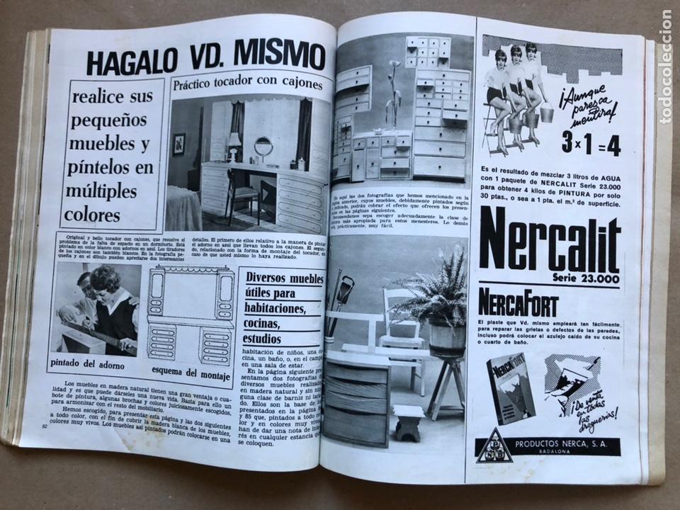 Coleccionismo de Revistas y Periódicos: REVISTA EL MUEBLE N° 51 (MARZO, 1966). REVISTA DE LA COMODIDAD. 2 REVISTAS EN 1. - Foto 7 - 135893933