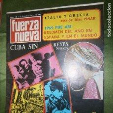 Coleccionismo de Revistas y Periódicos: REVISTA FUERZA NUEVA Nº 155 AÑO 1969 (RELACIONES IGLESIA-ESTADO,CAMPAÑA DIALECTICA..DESPLIEGUE-. Lote 135894234