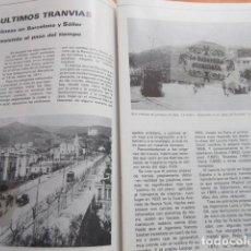 Coleccionismo de Revistas y Periódicos: ARTICULO 1980 - ULTIMOS TRANVIAS BARCELONA SOLLER TRANVIA AZUL TIBIDABO BLAU - HISTORIA LINEA 54. Lote 135898630