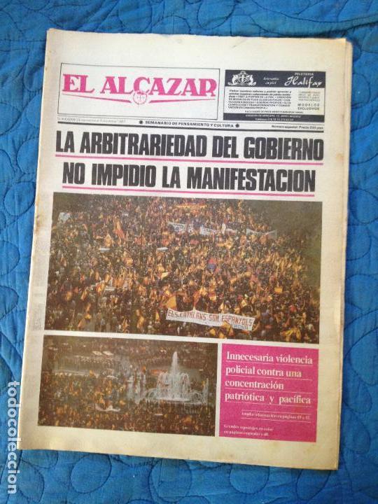 EL ALCAZAR- DICIEMBRE 1987 (Coleccionismo - Revistas y Periódicos Modernos (a partir de 1.940) - Otros)
