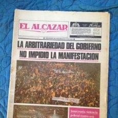 Coleccionismo de Revistas y Periódicos: EL ALCAZAR- DICIEMBRE 1987. Lote 136017846