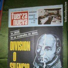 Coleccionismo de Revistas y Periódicos: REVISTA FUERZA NUEVA Nº 169 AÑO 1970 ( HERMANDAD DE EXCOMBATIENTES DE IFNI-SAHARA..LA GUERRA DE IFNI. Lote 136024566