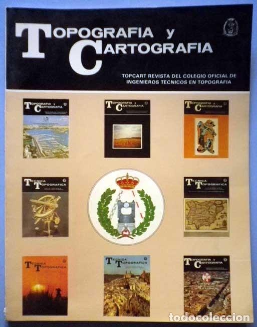 topografia y cartografia vol.VI nº 33,1989 Relojes sol,replanteo proyecto ingenieria,Grafinta gps segunda mano