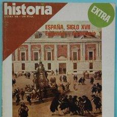 Coleccionismo de Revistas y Periódicos: HISTORIA 16. EXTRA XII. ESPAÑA, SIGLO XVII ESPLENDOR Y DECADENCIA. Lote 136142078