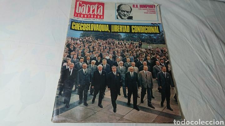 REVISTA GACETA ILUSTRADA, 1968, N°622 / CHECOSLOVAQUIA (Coleccionismo - Revistas y Periódicos Modernos (a partir de 1.940) - Otros)