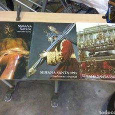 Coleccionismo de Revistas y Periódicos: SEVILLA SEMANA SANTA AÑO 80 Y 91 CAJA SAN FERNANDO. Lote 136210153