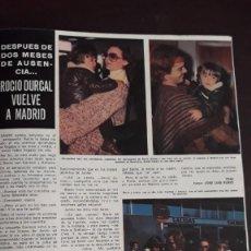Coleccionismo de Revistas y Periódicos: ROCIO DURCAL ANTONIO MORALES JUNIOR . Lote 136227930