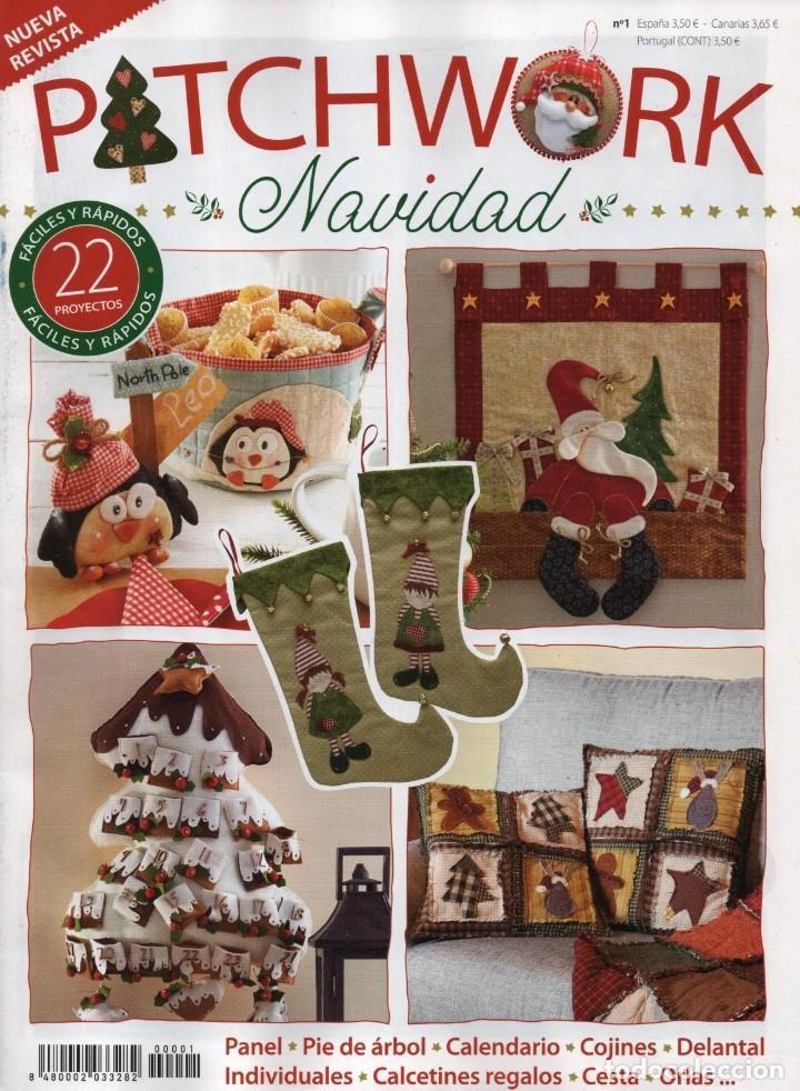 Cojines De Patchwork De Navidad.Patchwork Navidad N 1 22 Proyectos Faciles Y Rapidos Nueva