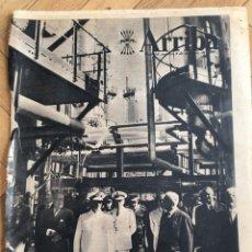 Coleccionismo de Revistas y Periódicos: ARRIBA (8-10-57) AVILES CASTILLO DE OLITE DARSENA ESCOMBRERAS DALI WALT DISNEY . Lote 136331654