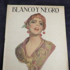 Coleccionismo de Revistas y Periódicos: REVISTA BLANCO Y NEGRO JUNIO 1918 NUM 1412 COMPLETA. Lote 136331666