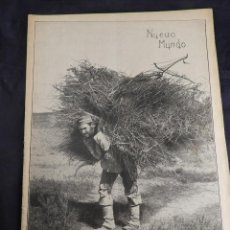 Coleccionismo de Revistas y Periódicos: REVISTA NUEVO MUNDO SEPT. 1909 NUM 819 COMPLETA. Lote 136332706