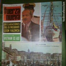 Coleccionismo de Revistas y Periódicos: REVISTA FUERZA NUEVA Nº 89 AÑO 1968 (LA CAJA DE AHORROS MUNICIPAL DE SAN SEBASTIAN ANTE EL PROBLEMA-. Lote 136344626