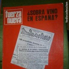 Coleccionismo de Revistas y Periódicos: REVISTA FUERZA NUEVA Nº 114 AÑO 1969(ENFRENTAMIENTO SISTEMÁTICO Y SUBVERSIVO CONTRA LA IGLE-. Lote 136346038
