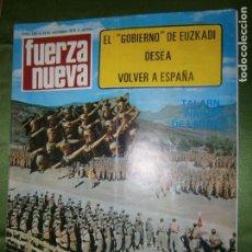 Coleccionismo de Revistas y Periódicos: REVISTA FUERZA NUEVA Nº 192 AÑO 1970 CARA SUCIA DE .ÁMERICA..NUEVA ORLEANS CAPITAL DEL BLACK POWER . Lote 136346330