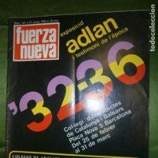 Coleccionismo de Revistas y Periódicos: REVISTA FUERZA NUEVA Nº 167 AÑO 1970 ( EL MILAGRO DE LA CRUZ,SEMANA SANTA 1970,BAJO EL MILAGRO. Lote 136352066
