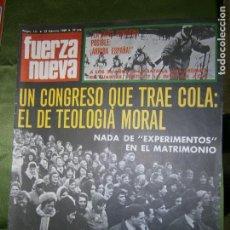 Coleccionismo de Revistas y Periódicos: REVISTA FUERZA NUEVA Nº 111 AÑO 1969 (EL MISTERIO DE.. LOS HOMBRECILLOS VERDES..SON LAS DIMINUTAS. Lote 136352574