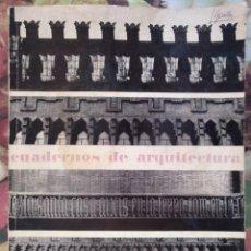 Coleccionismo de Revistas y Periódicos: CUADERNOS DE ARQUITECTURA Nº 52-53 ESPECIAL DOMENECH Y MONTANER BARCELONA 1963. Lote 136367970