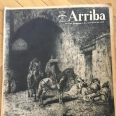 Coleccionismo de Revistas y Periódicos: ARRIBA(11-9-55)FORTUNY VALLE INCLAN BISCUTER ORENSE ATLETICO REAL MADRID CORUÑA BILBAO HERCULES. Lote 136394062