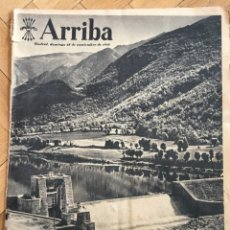 Coleccionismo de Revistas y Periódicos: ARRIBA (25-9-55) RIBAGORZANA EUGENIO DORS SANTIAGO RUSIÑOL ALAVES PREGON DE LA MERCED OVIEDO. Lote 136395298